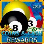 Coins & Cash Rewards for 8 Ball Pool 2019