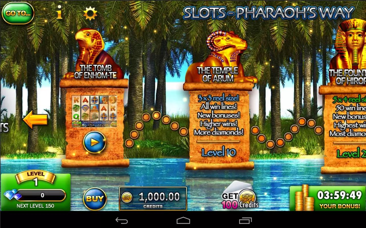 Pharaoh Slots For Android